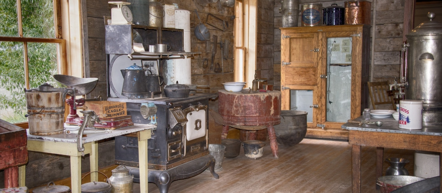 Caledonian Boardinghouse Kitchen