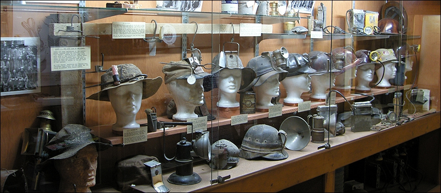 Miners Hats Through the Years