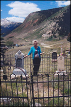 Freda Carley Peterson, Author of 'The Story of Hillside Cemetery'